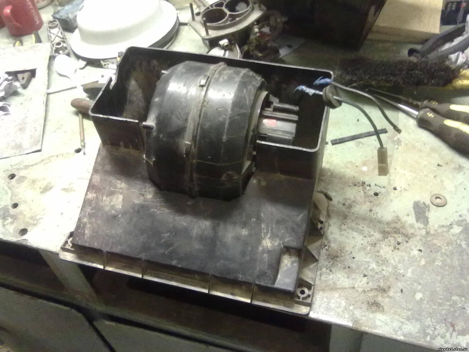 Дополнительная печка на ниву своими руками